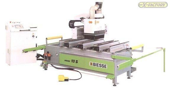 bp 320006 biesse rover 13 s cnc machining center rh exfactoryauctions com Biesse Rover 2.0 Used Biesse Rover
