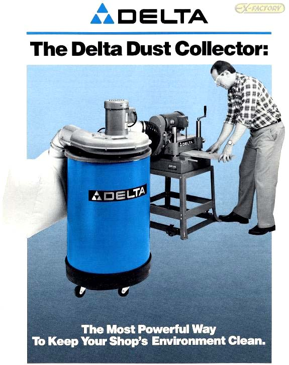 "DC-230360 - DELTA ""50-180"" DUST COLLECTOR"