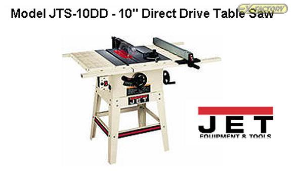 St 230480 Jet Quot Jts 10dd Quot Table Saw Hobby